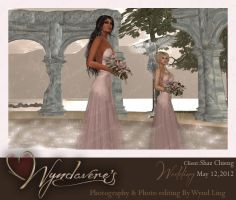 shaz wedding brides maids by Wyndaveres