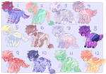 Canine Adopts [ 9/12 OPEN ] by OstrichAdopts