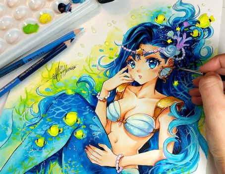 Blue Ocean by Naschi