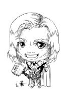 Tomodachi Fest Commission 1 - Thor by AnimeGirlMika