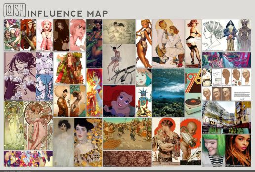 Influence map - new! by loish