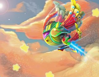 :Request: Kirby Robot by Cophii