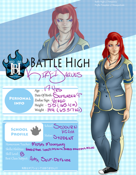 Kirei Jaques - Battle High profile by InkieRose