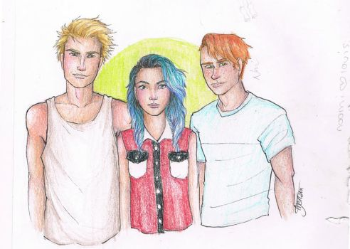isac,tyla and angus by may12324