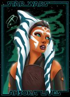 Star Wars Rebels - Ahsoka by RCBrock