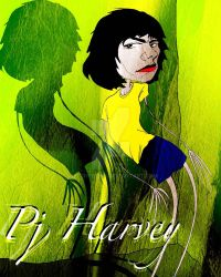 PJ Harvey by Welchtoons