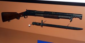 Winchester M1897 Trench Gun by shelbs2