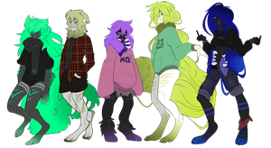 look at these losers by Bitley