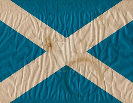 Scottish Flag by hassified