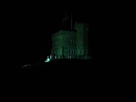 Cabot Tower at Night by Xjph