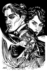 Magdalena, Tom Judge and Tilly by InkWorthy