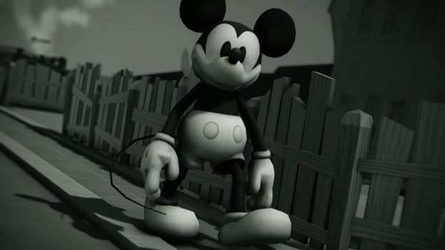 MMD Willy The Mouse by JohnCena0453
