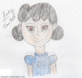 Lucy Van Pelt Fanart by breep5