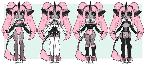 Yara Outfits by xenthyl