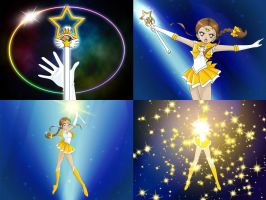 Sparkling Golden Fusion by ParlourTricks