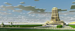 Palace of the Soviets| Built by Lemmy-koopaling by MinecraftPhotography