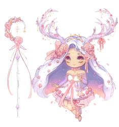 [CLOSED] Moon Witch Fairy Vial | Adopt by deency