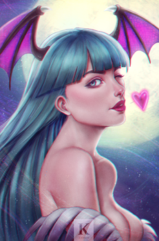Morrigan Aensland by KenryChu