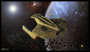 Uss Teager - NCC 61948 - second view by MotoTsume