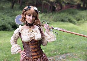 Moscow steampunk picnic - MosSteam-2016 6 by Agcooper73