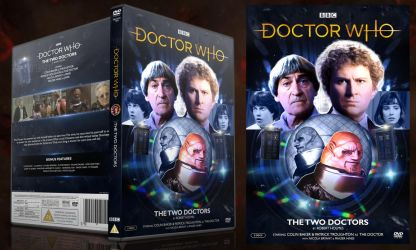 Doctor Who - The Two Doctors DVD Cover by GrantBattersby