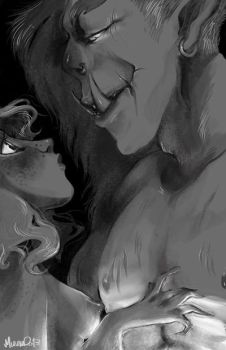 orc and babe by muura