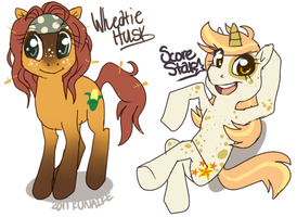 Pony OC's by Kunaike