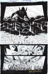 TEEN TITANS Issue 97-14 - Rankor is Pissed Now $65 by DRHazlewood