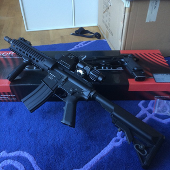 My first airsoft gun by thetnknownbrony