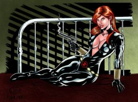 Black Widow by malabim
