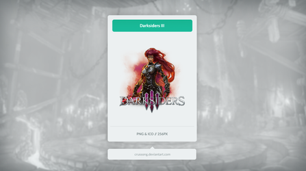 Darksiders III - Icon by Crussong