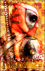Avatar Nikos Deadpool by Elya-Tagada