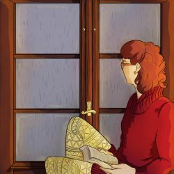 By the Window - Final Illustration by DonCorgi