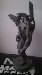 ME 2-3 Legion Miniature Statue (2) by zhe-holti