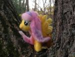 Fluttershy My Little Pony Needlefelt by Black-Feather