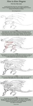 How to draw Dragons Part One by Sheranuva