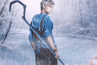 Thomas Brodie-Sangster as Jack Frost by RiuDiAngelo