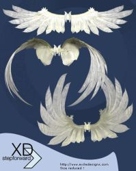 XD AngelWings by exiledesigns