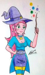MLP - Gloriosa Daisy Witch Costume by atisuto17