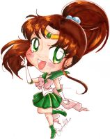 Day 1: Sailor Jupiter #365daysofcopic by aNgeLmiAocHii726