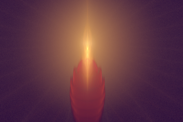a candle in the room by tsahel