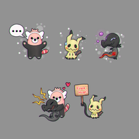 new pokemon for july by CJsux