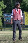 A cowboy at Buffalo Bills Wild West 7/26/2014 by Crigger