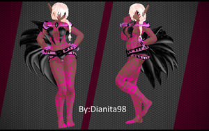 MMD MOTME Chinese Zodiac: Cyber Rooster by dianita98