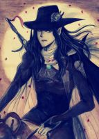 Vampire Hunter D by Vision-Artz
