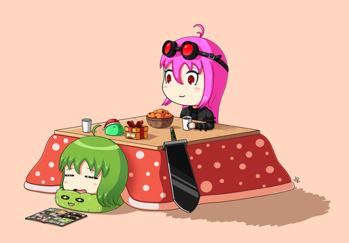Together under the kotatsu by JoTheWeirdo