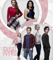 Pack Png 3473 - Riverdale Cast (season 1) by southsidepngs