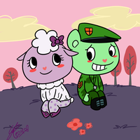Lammy and Flippy by Budgies