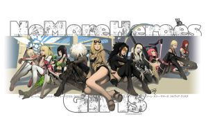 no more heroes girls v2.0 by semsei