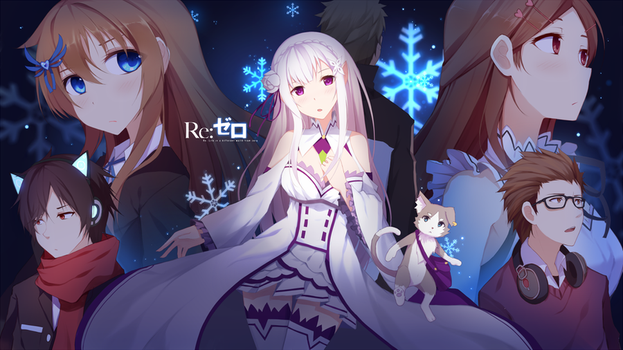 Re:Zero Style Helix cover artwork by Riki-to
